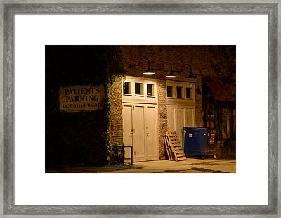Into The Night Framed Print by Jim Finch