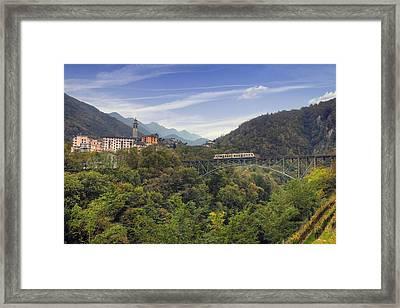 Intragna - Ticino Framed Print