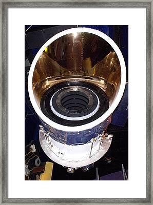 Iras Infrared Astronomy Satellite Framed Print by Mark Williamson