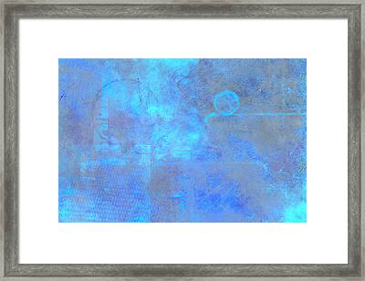 Iridescent Aquamarine Framed Print by Christopher Gaston