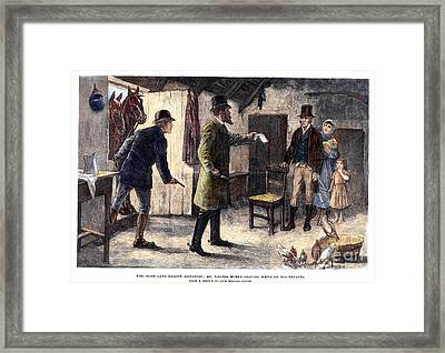 Irish Land League, 1881 Framed Print by Granger