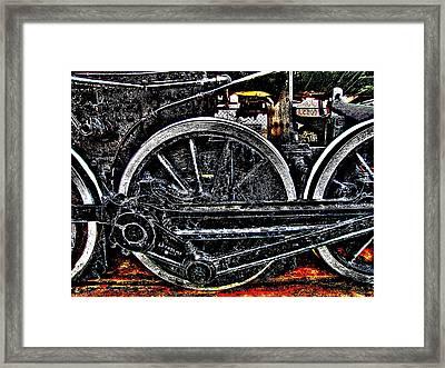 Iron Hooves Framed Print by HW Kateley