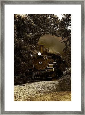 Iron Horse Framed Print