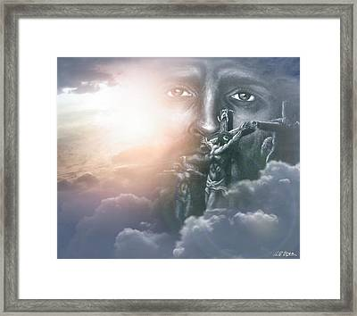 Isaiah's Vision Framed Print by Bill Stephens