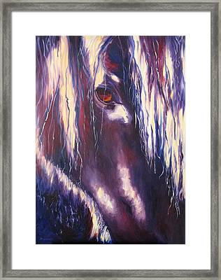 Isis Framed Print by Terry  Chacon