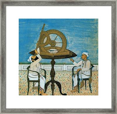 Islamic Astronomers Framed Print