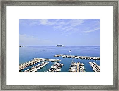 Island Gallinara Framed Print