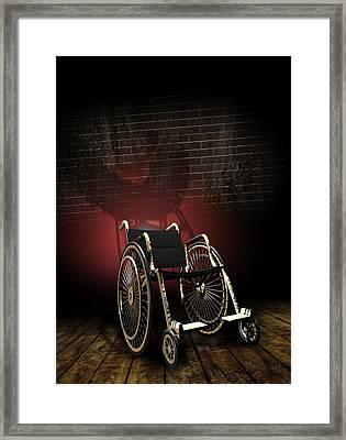 Isolation Through Disability, Artwork Framed Print