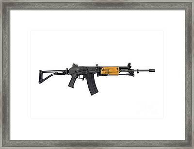 Israeli Galil 5.56mm Assault Rifle Framed Print