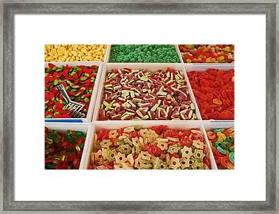 Italian Market Framed Print by Joana Kruse