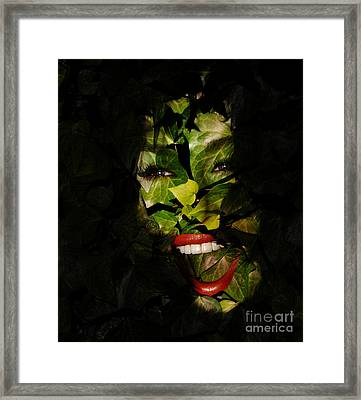 Framed Print featuring the photograph Ivy Glamour by Clayton Bruster