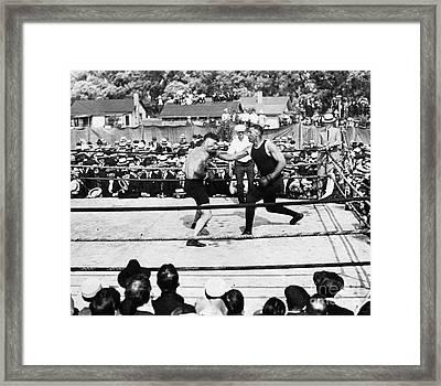 Jack Dempsey (1895-1983) Framed Print by Granger
