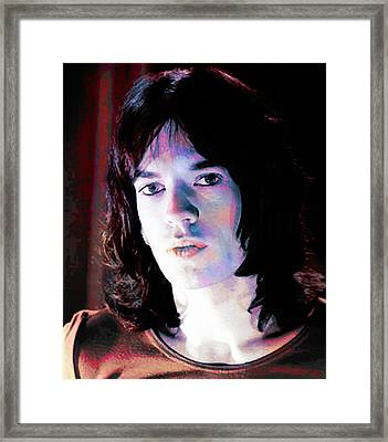 Jagger Framed Print by Stephen Walker