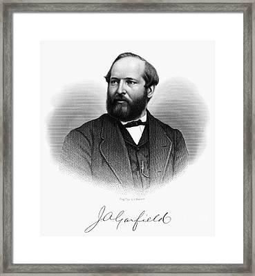 James A. Garfield (1831-1881) Framed Print by Granger