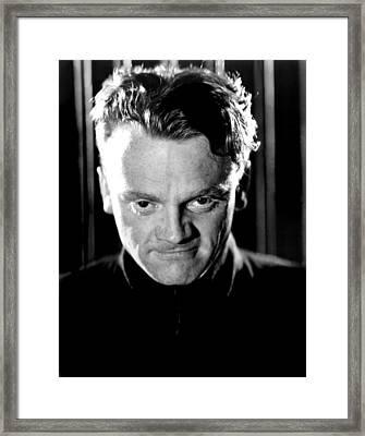 James Cagney Framed Print by Everett