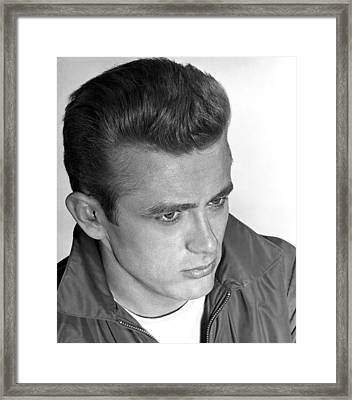 James Dean, 1955 Framed Print by Everett