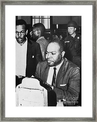 James Farmer (1920-1999) Framed Print by Granger
