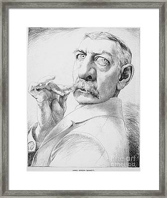 James Gordon Bennett, Jr Framed Print by Granger