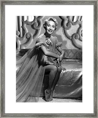 Jane Powell, Mgm, Early 1950s Framed Print