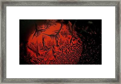 Japan Sun Framed Print