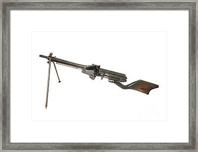 Japanese Type 11 Light Machine Gun Framed Print
