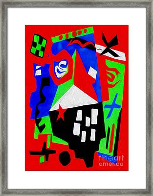 Jazz Art - 04 Framed Print by Gregory Dyer