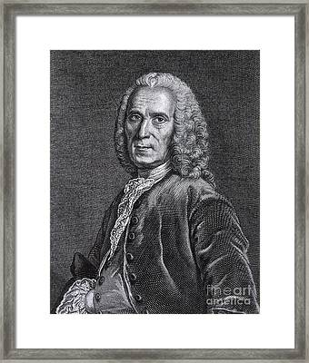 Jean Astruc, French Professor Framed Print by Science Source