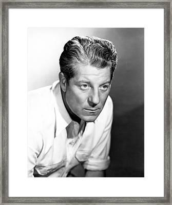Jean Gabin, Portrait, 1940s Framed Print