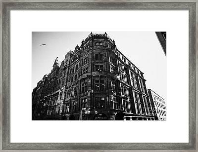 Jenners Department Store Edinburgh Scotland Uk United Kingdom Framed Print by Joe Fox
