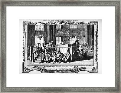 Jewish Life, 18th Century Framed Print by Granger