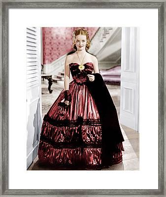 Jezebel, Bette Davis, 1938 Framed Print