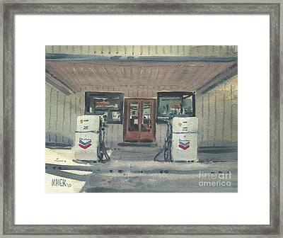 Jimtown Store Framed Print by Donald Maier
