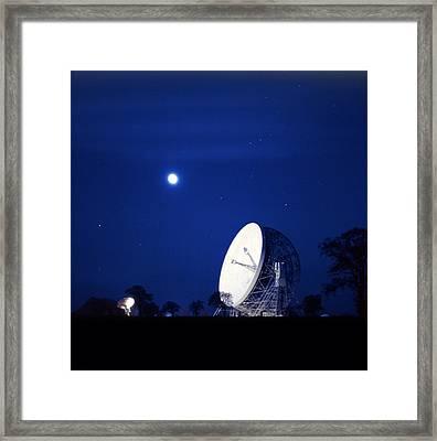 Jodrell Bank Observatory Framed Print by Richard Kail