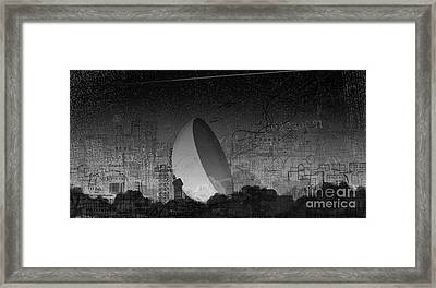 Jodrell Bank Remembered Framed Print by Andy  Mercer