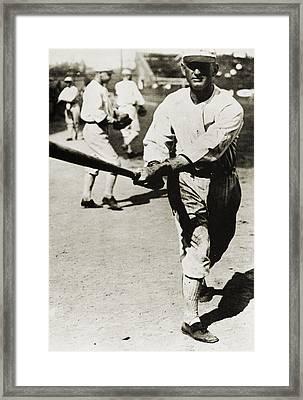 Joe Jackson (1889-1991) Framed Print by Granger