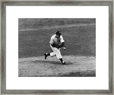 Joe Page (1917-1980) Framed Print by Granger