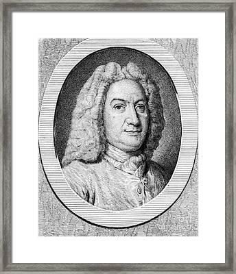 Johann Bernoulli, Swiss Mathematician Framed Print