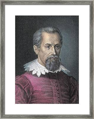 Johannes Kepler, German Astronomer Framed Print by Detlev Van Ravenswaay