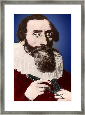 Johannes Kepler, German Astronomer Framed Print by Science Source
