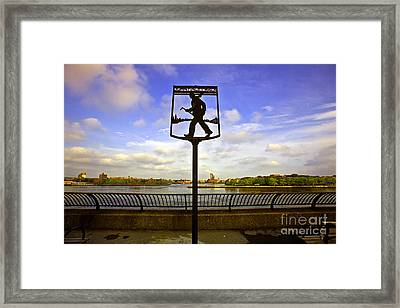 John Finley Walk IIi Framed Print