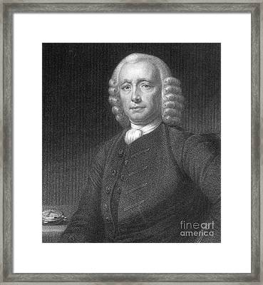 John Harrison, English Inventor Framed Print