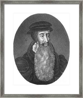 John Knox, Scottish Protestant Framed Print by Photo Researchers