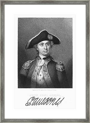 John Paul Jones Framed Print by Granger