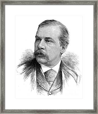 John Pierpont Morgan Framed Print by Granger