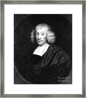 John Ray, Father Of English Natural Framed Print by Science Source