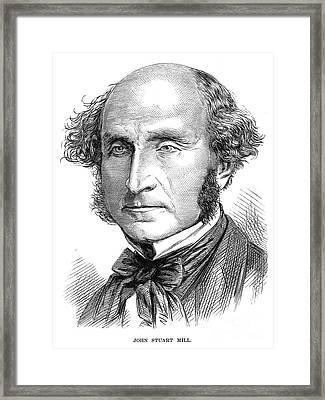 John Stuart Mill Framed Print by Granger