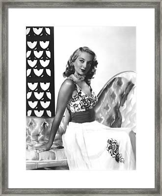 Johnny Oclock, Evelyn Keyes, 1947 Framed Print by Everett