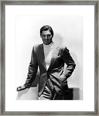 Johnny Weissmuller, 1930s Framed Print by Everett