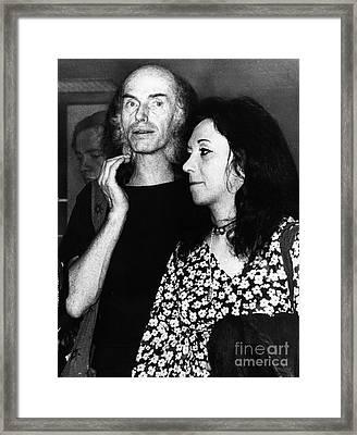 Julian Beck (1925-1985) Framed Print