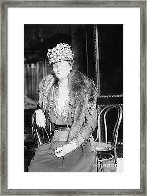 Juliette Daisy Low, Founder Of The Girl Framed Print